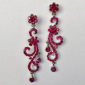 Iridescent Pink Earrings